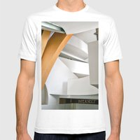 Intersect Mens Fitted Tee White SMALL