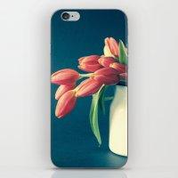 Thinking of You - Sending Tulips iPhone & iPod Skin