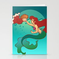 Daughters of Triton Stationery Cards