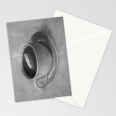 Whale in a tea cup  Stationery Cards