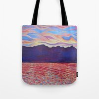 Sunset Over Vancouver Is… Tote Bag