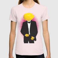 Lemonhead Womens Fitted Tee Light Pink SMALL
