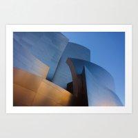Walt Disney Concert Hall Art Print