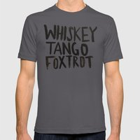 Whiskey Tango Foxtrot Mens Fitted Tee Asphalt SMALL