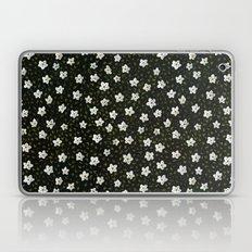 White Spring Flowers Laptop & iPad Skin