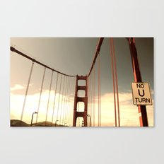 red gold 2 Canvas Print