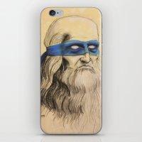 Leo TMNT iPhone & iPod Skin