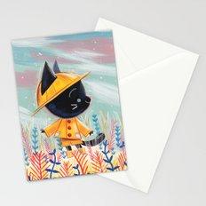 Raincoat 1 Stationery Cards