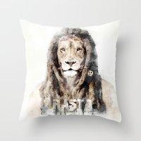 RASTASAFARI Throw Pillow