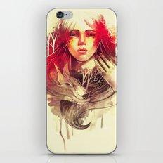 Purity In Red iPhone & iPod Skin