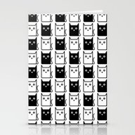 A Chess Of Cats Stationery Cards