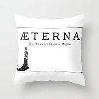 Æterna Throw Pillow