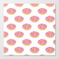Doughnut Heaven  Canvas Print