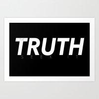 Inverse Truth Art Print