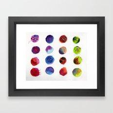 Dot Com Framed Art Print