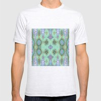 Fancy Teal Mens Fitted Tee Ash Grey SMALL