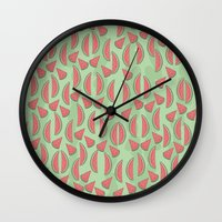 Watermeloon Wall Clock