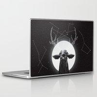 deer Laptop & iPad Skins featuring The Banyan Deer by Davies Babies