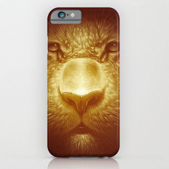 Gold Tiger iPhone & iPod Case