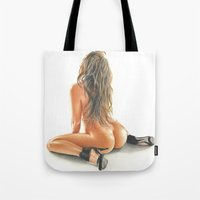 color girl Tote Bag