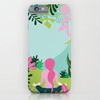 Yoga Garden iPhone 6 Slim Case