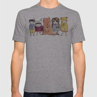 Moo Friends Mens Fitted Tee Athletic Grey SMALL