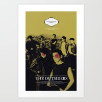 The Outsiders Movie Post… Art Print