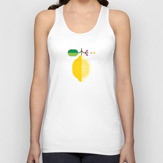 Fruit: Lemon Unisex Tank Top