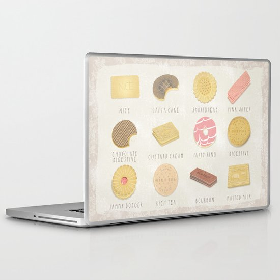 BISCUITS  Laptop & iPad Skin