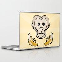 monkey Laptop & iPad Skins featuring Monkey by Nir P
