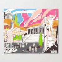 Milano da bere  Canvas Print