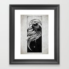 Check Your People Framed Art Print