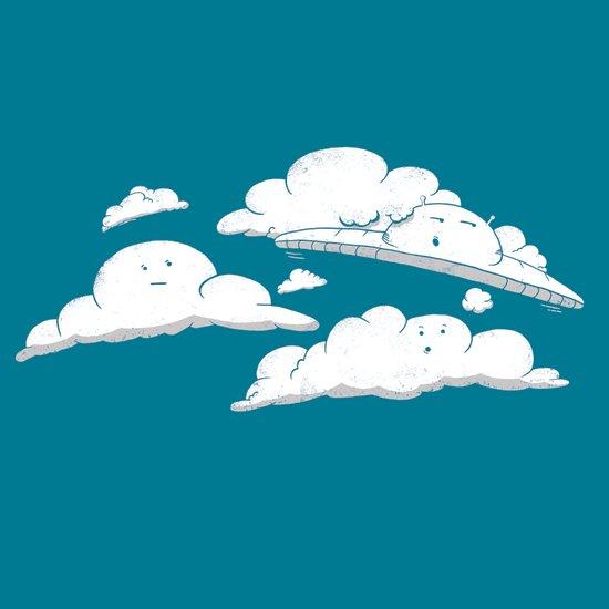 Cloud Cover Art Print