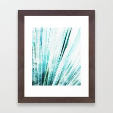 Cactus Watercolor Framed Art Print