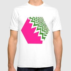 Watermelon Bizcut Mens Fitted Tee SMALL White