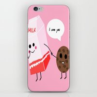 Milk and cookie love  iPhone & iPod Skin
