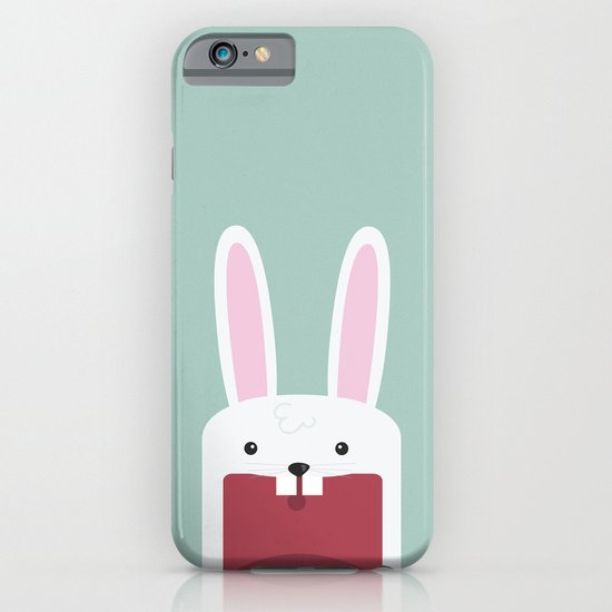 Jawdrop Bunny iPhone & iPod Case