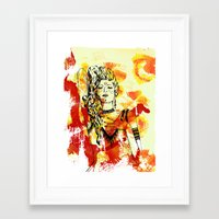 Tribal Beauty 2 Framed Art Print