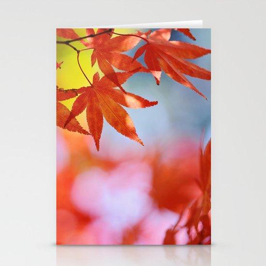 Autumn blush Stationery Card