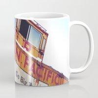 the union pacific caboose Mug