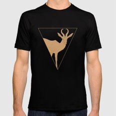 All lines lead to the...Inverted Springbok Mens Fitted Tee Black SMALL