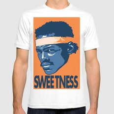 Sweetness Mens Fitted Tee White SMALL