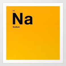 Sodium Art Print