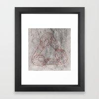 Basket Of Hands Framed Art Print