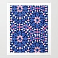 Rockin Morocco Tribal Ka… Art Print