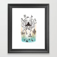 Octoluminary Framed Art Print