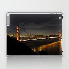 Golden Gate Bridge @ Night Laptop & iPad Skin