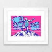 Dolph Ziggler Framed Art Print