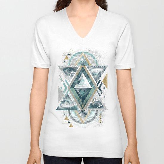 Eyesosceles V-neck T-shirt