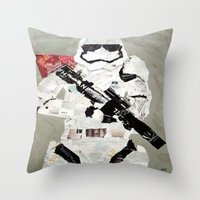 FIRST ORDER STORM TROOPER Throw Pillow